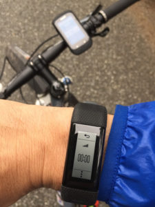 Vivosmart_HR+_fahrrad_GPS