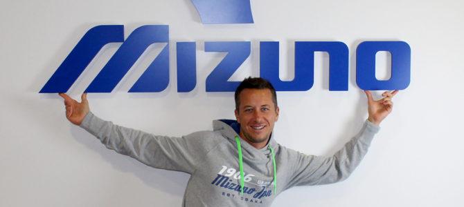 Neuer Markenbotschafter für Mizuno