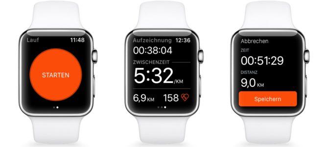 Strava beherrscht nun GPS auf der Apple Watch Series 2
